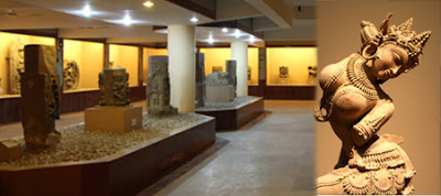 Sculptures in Assam Rajyik State Museum