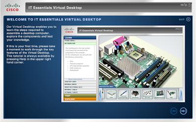 Cara Merakit Komputer Melalui Aplikasi Cisco IT Essentials Virtual