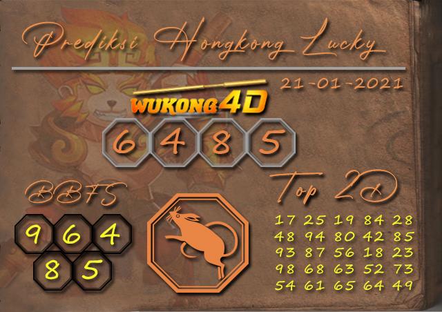 PREDIKSI TOGEL HONGKONG LUCKY 7 WUKONG4D 21 JANUARY 2021