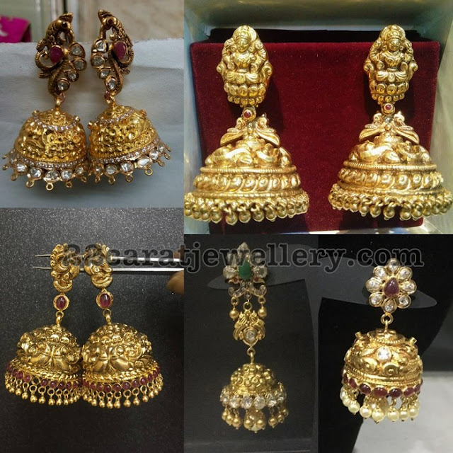 Trendy Jhumkas with Traditional Touch