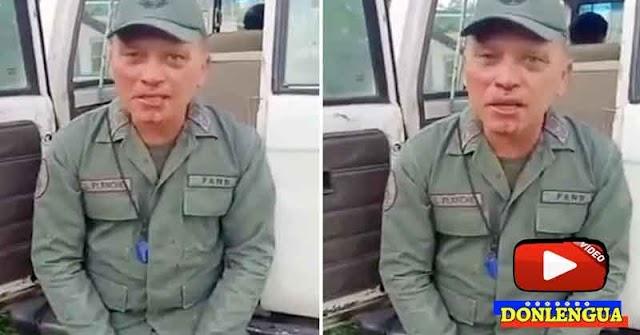 Delincuentes golpearon a funcionario de las FAN y lo obligaron a grabar un mensaje
