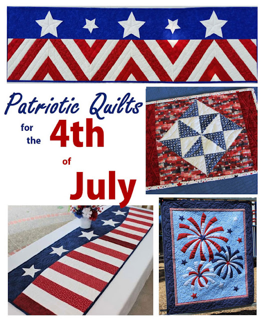 Patriotic quilt patterns free and for purchase