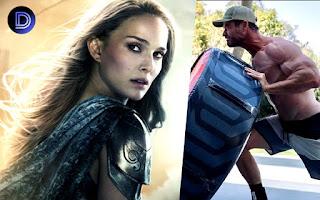 Thor actor Natalie Portman Reacts on Chris Hemsworth Post
