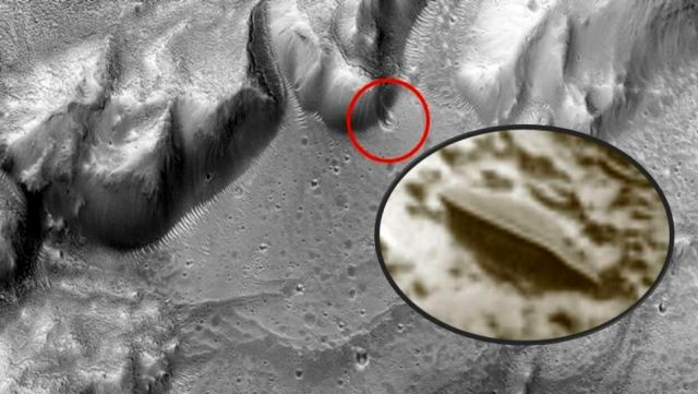 UFO News ~  UFO crashed into a crater on Mars? and MORE Ufo%2Bcrash%2Bcrater%2Bmars