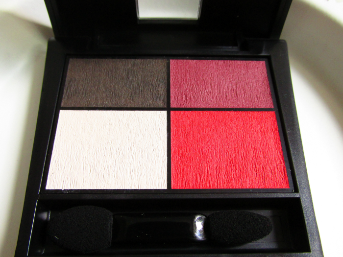 Review: Make up Factory Mat Eye Colors Quattro - 020 Red Rebel -