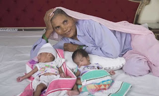 Record Breaker!!!: 74-Year Old Woman To Deliver Twins