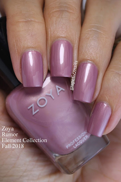 Rumor Zoya Element Collection Fall 2018