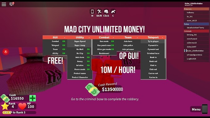 Mad City Gui