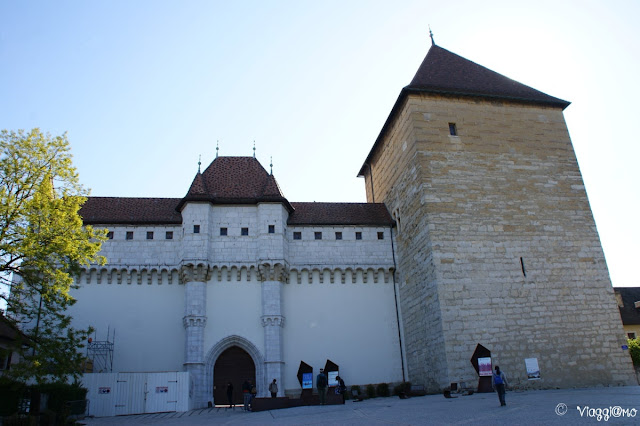 Il bel Castello di Annecy risalente al XIII secolo