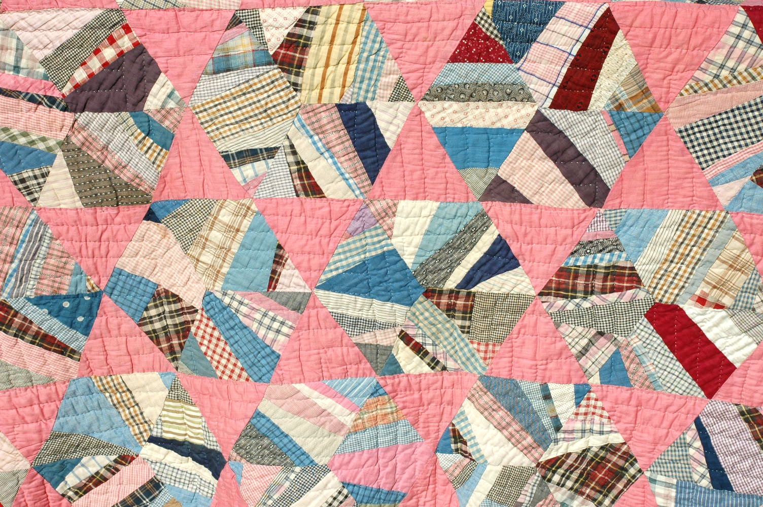 Sentimental Baby Vintage Rag Scrap Quilt