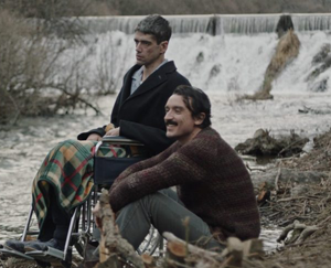 Javier Botet en silla de ruedas