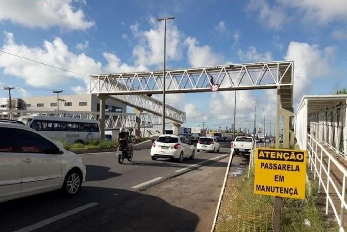 TRÁFEGO: Trecho da BR-230 será interditado para retirada do vão central da passarela do Renascer.