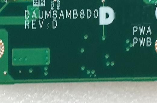DAUM8AMB8D0 REV D DELL N4010 Laptop Bios