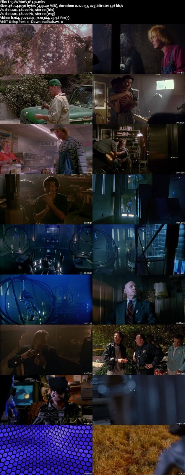 The Lawnmower Man 1992 Hindi Dual Audio 480p BluRay Free Download