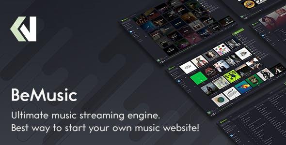 BeMusic v2.4.5 - Music Streaming Engine
