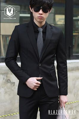 blazer cowok blazercowok.com jaket korean jas pria bk01 j