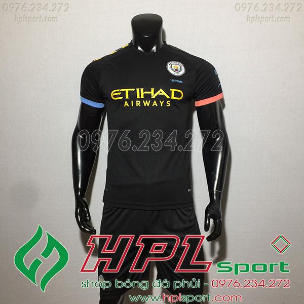 Áo câu lạc bộ Man City màu đen 2020