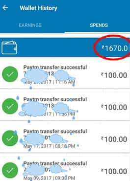 Pocket Money App Payment prof