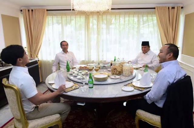 Pertemuan Jokowi-Prabowo Politis? Ini Jawaban Gerindra