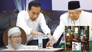 Jokowi Buka Izin Investasi Miras, Tengku Zul Colek Ma'ruf Amin: Yai Engga Malu?