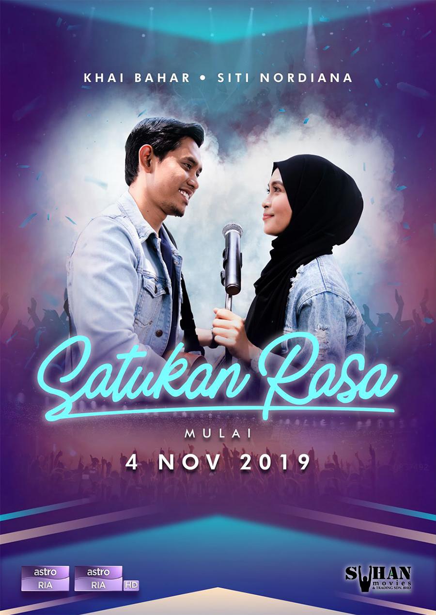 Drama Satukan Rasa lakonan Siti Nordiana dan Khai Bahar
