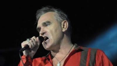 Morrissey durante un concierto en Madrid