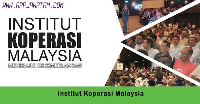 Jawatan Kosong di Institut Koperasi Malaysia.