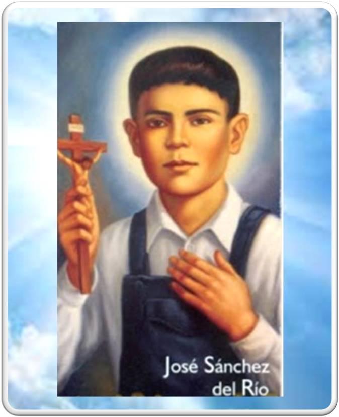 Resultado de imagen para Oraciones a San José Sánchez del Río