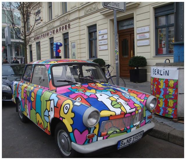 trabant ou trabi em Berlim