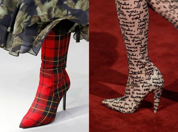 Fall-Winter 2018-2019 Women's Long Heeled Boots Fashion Trends