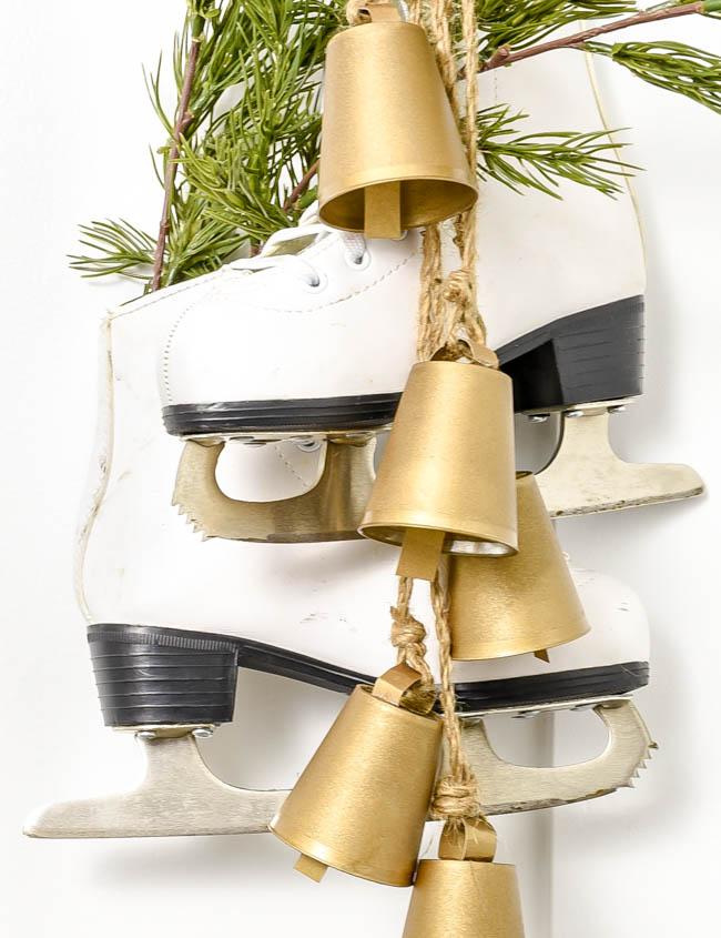 DIY Dollar Tree brass bells