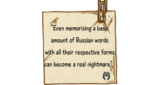 techniques to memorize new Russian words