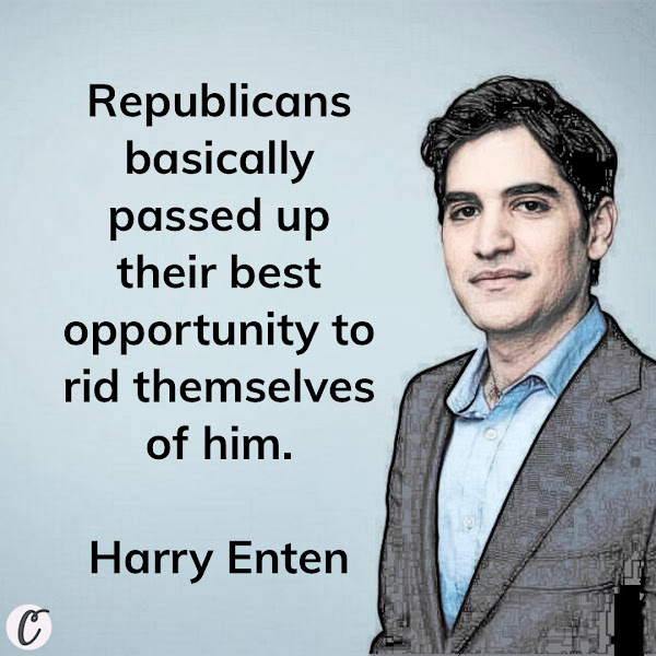 Republicans basically passed up their best opportunity to rid themselves of him. — Harry Enten, CNN Politics Senior Writer and Analyst