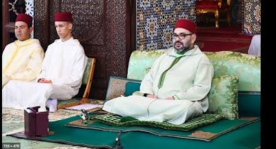 """الملك محمد السادس يعزي في وفاة الحاج """"إبراهيم ادحلي بيشا"""