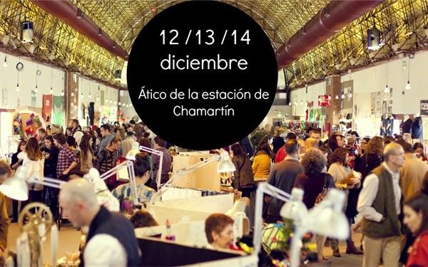 Nómada market. ¡Funny Christmas edition! en el Ático de las estación de Chamartín