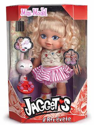 LAS JAGGETS - Muñeca Mini Model con trenzador y tatuador   Famosa 2017   #atrévete   COMPRAR JUGUETE - TOYS - JOGUINES caja