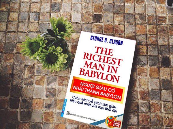 Sách kinh doanh: Người giàu có nhất thành Babylon