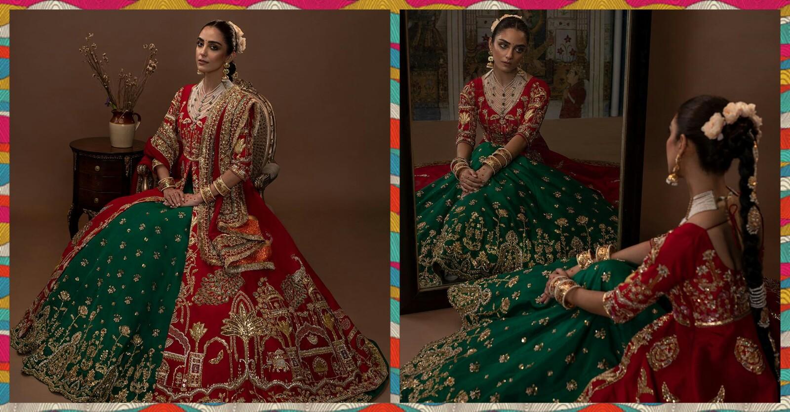 Maya Ali New Photohoot for Designer Ali Xeeshan