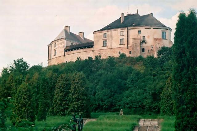 Замки Львовской области - Олесько