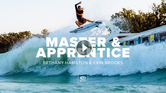 Master And Apprentice starring Bethany Hamilton and Erin Brooks Rip Curl