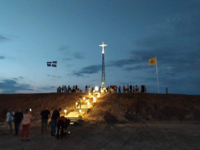 Έβρος: Αρχιμανδρίτης απαντά στους Τούρκους για τον τεράστιο σταυρό στη Νέα Βύσσα