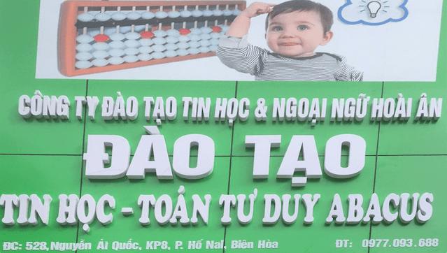 Nhường quyền toán tư duy soroban tại Nhơn Trạch