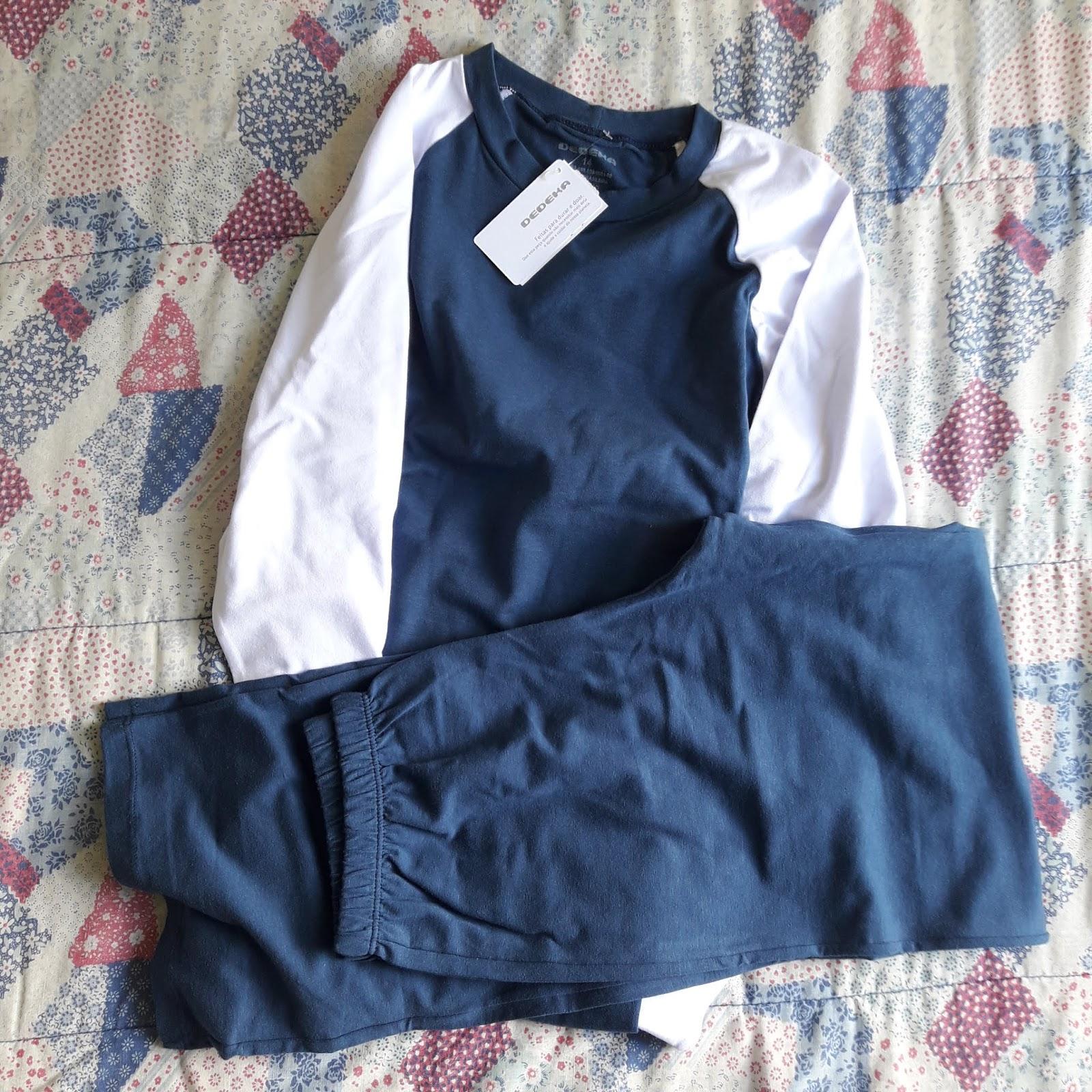 8f7707c22  Pijama infantil de algodão e modal para menino