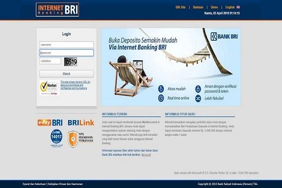 Cara Transfer Sesama BRI Dengan BRI Internet Banking