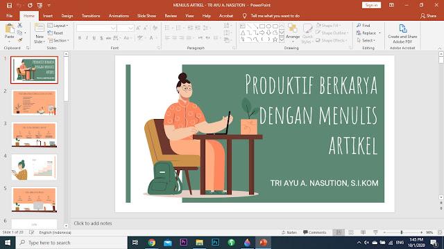 Cara Membuat Presentasi PowerPoint Menarik dari Template Gratis