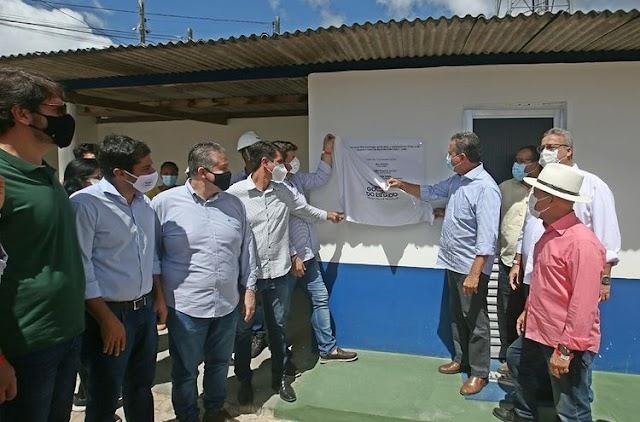 Novo sistema de abastecimento de água é inaugurado em Entre Rios