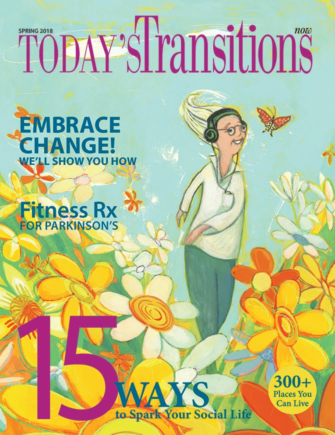 The Spring Edition of Today's Transitions is Out!