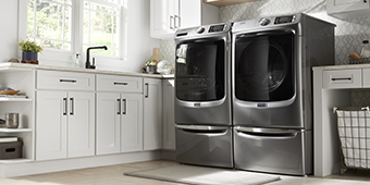 Good Housekeeping wants you to upgrade your laundry room so they are giving away this Maytag front load Washer and Dryer pair worth over $3000!