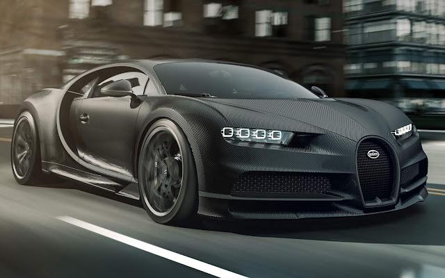 """Bugatti """"Chiron Noire"""" chega por R$ 14 milhões - Europa"""
