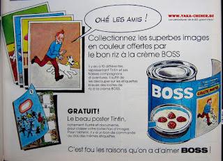 Documentations sur Tintin